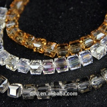 High Quality china K9 glass crystal beads strand for DIY jewelry making