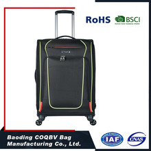 600D polyester cheap trolley luggage