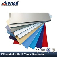 Alusign acp silicone sealant cladding with competitive price Aluminum Composite Panels
