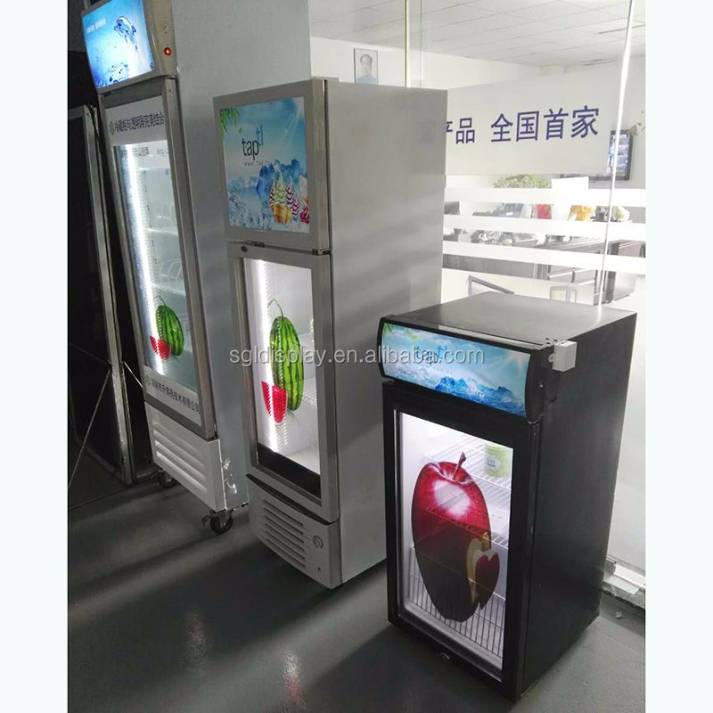 Refrigerator door with transparent lcd display made in China