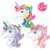 Giant helium Animal horse unicorn foil balloon