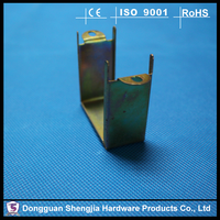 thick iron steel sheet metal laser cutting stainless spring clips