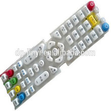 Standard silicone rubber keypad for electronic organ