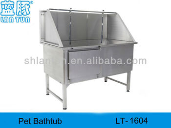 Fixed foot Pet BathTub (one door)