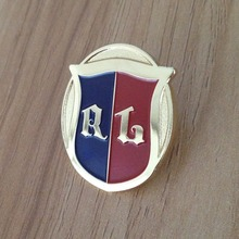 russian military zinc alloy pin badge with plastic box packing