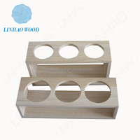 2015 New Design Wood Wine Glass Gift Box
