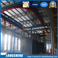 Hanger Type Continuous Catenary Shot Blast Cleaning Machine