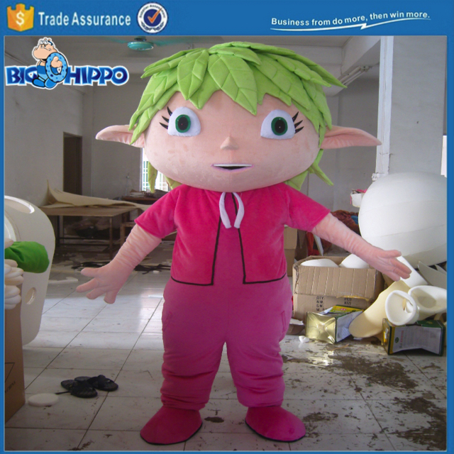 Fairytale legend wood elf ecology environment friendly promotion event high quality custom mascot costume