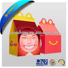 fashion design customized cute design paper box