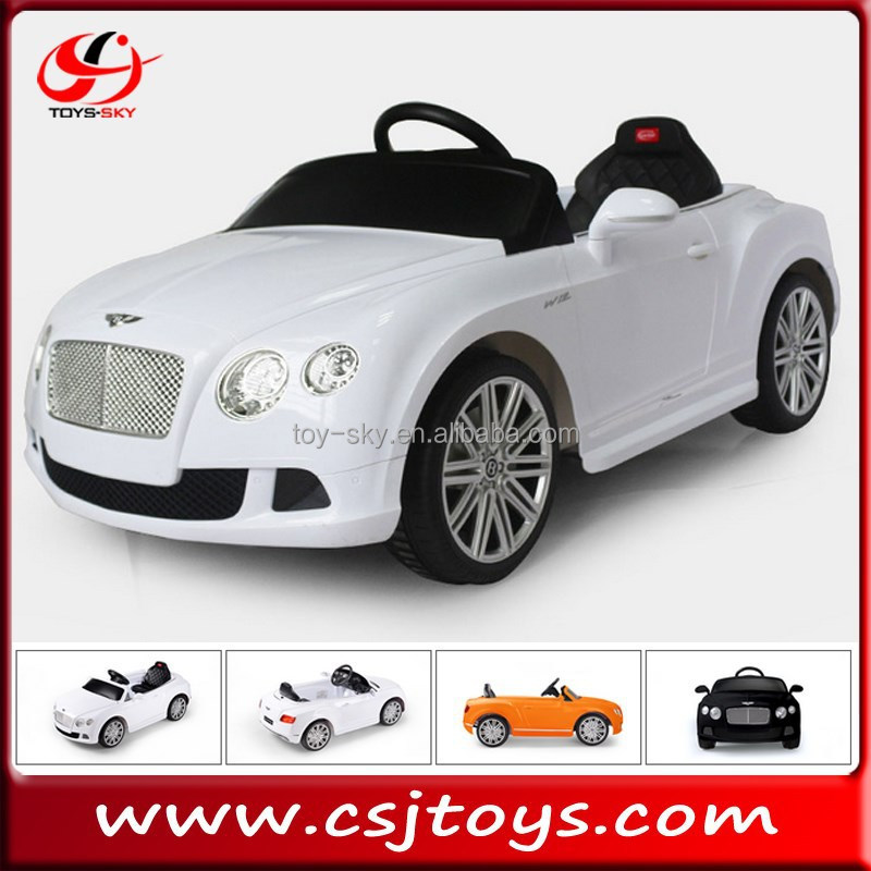 New product Battery Power and remote control Type Licenced Bently GTC Style Kids Electric Ride On Car Baby buggy for sale