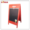2016 New design A-style folding wood blackboard