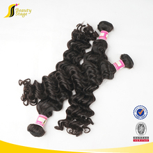 Alibaba wholesale human hair weaves light brown curly weave extensions