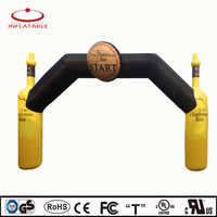 advertising indoor/ outdoor inflatable decorations arch