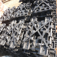CCH500 crawler crane track shoe undercarriage parts
