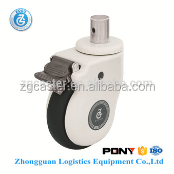zogo 8285-813G-8 insert stem medical bed caster wheel
