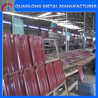 wholesale pre-painted corrugated metal roof sheet for building materials