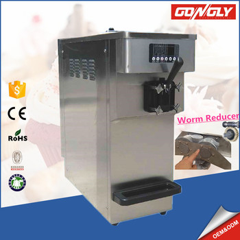 A11W Jiangmen gongly machine supply single handle ice cream maker for sale dircet sale price