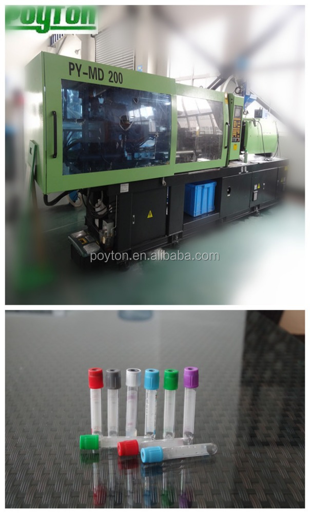 PET blood tube injection molding machine in