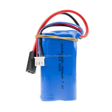 Radio Control Speed Boat Spare Replacement Battery 18650 2S 7.4V 1500mAh 15c li ion battery