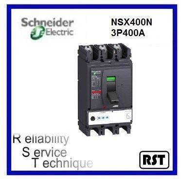 LV432694AD Compact NSX400N4P400A Merlin Gerin Schneider MCCB Molded Case Circuit Breaker