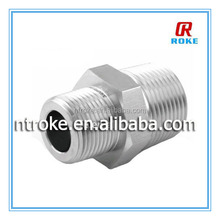 male MS straight thread to male NPT adapters