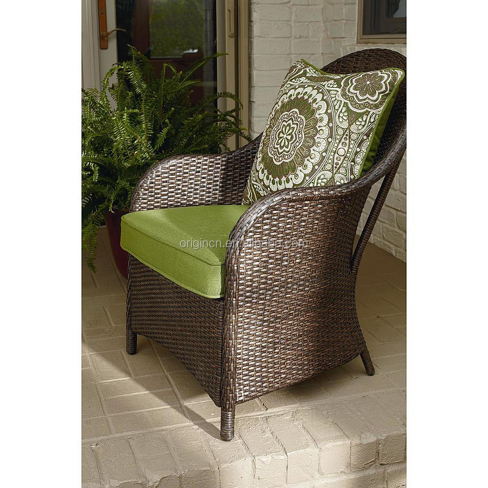 Stone Granite Top Square Table With 4 Rattan Dining Chairs Rooms To Go Outdoo