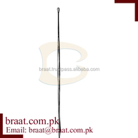a Probe Buttoned w/eye flat end 2mm, 11.5cm/Dermatology, Otology & Probe