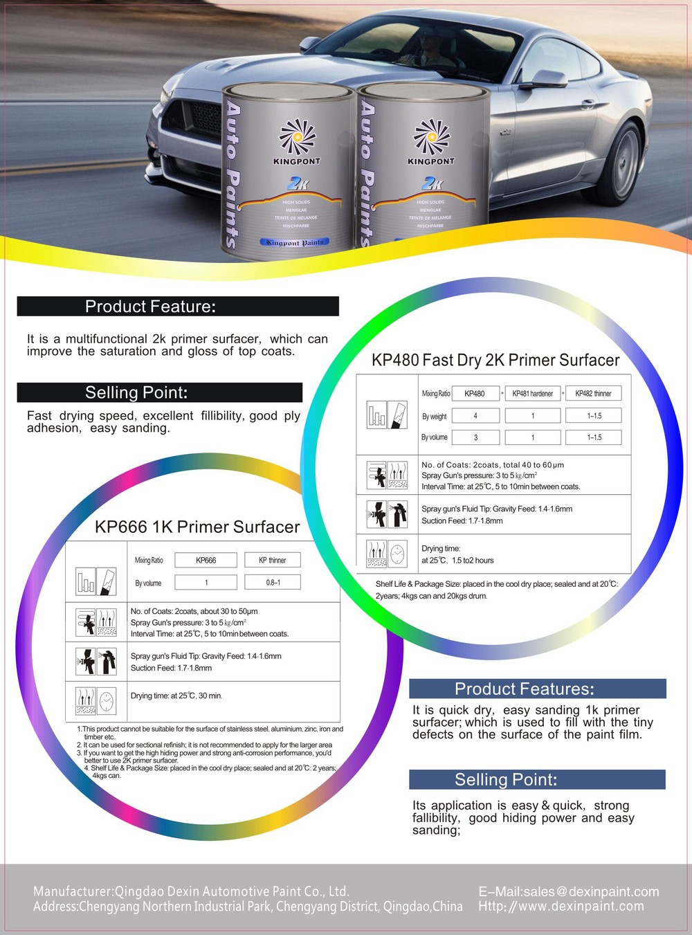 Car Paint Primer for Car Repair