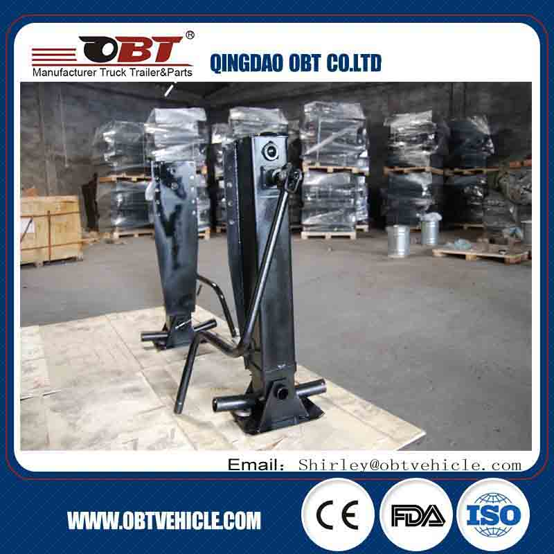25T Internal drive Aluminum alloy landing gear for tank trailer,landing gear for tank truck