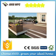 New garden home plan Good Prices Anti-UV Floor Boards Redwood Outdoor WPC decking