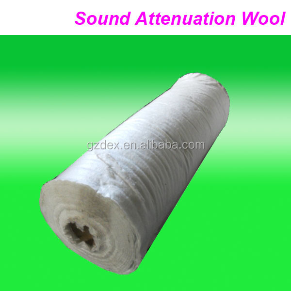 auto parst universal exhaust muffler sound attenuation wool