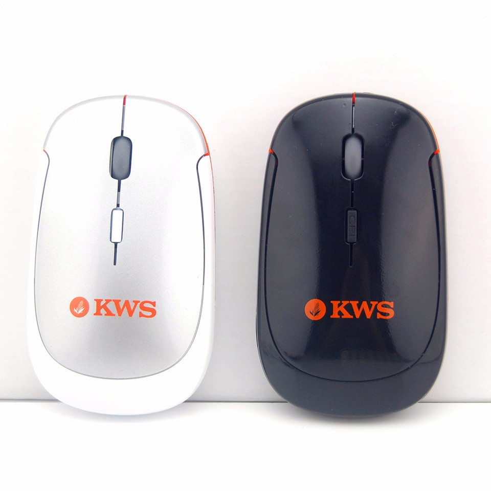 Optical Ultrathin 2.4Ghz Classic Custom Logo Wireless Mouse