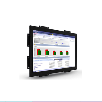 Wall mounted 19 inch Touch Screen Open Frame LCD Monitor