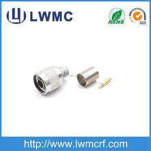 rf coaxial N male LMR400 jumper RF connector
