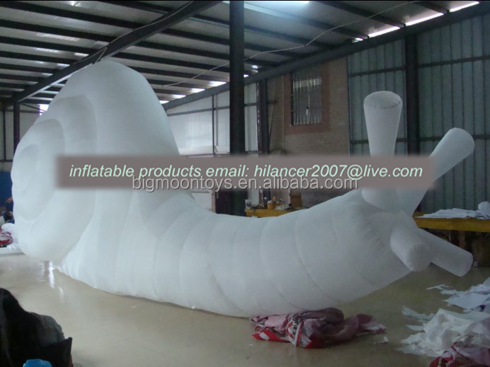 outdoor new products inflatable advertising giant snails for sale