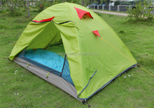 waterproof Double Layer 3 Season 2 Person promotion inflatable tent camping