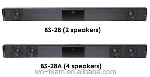stereo fashion sound bar for LCD TV bluetooth speaker