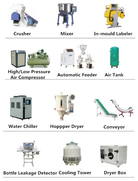 plastic 3L jar extrusion blow molding machine
