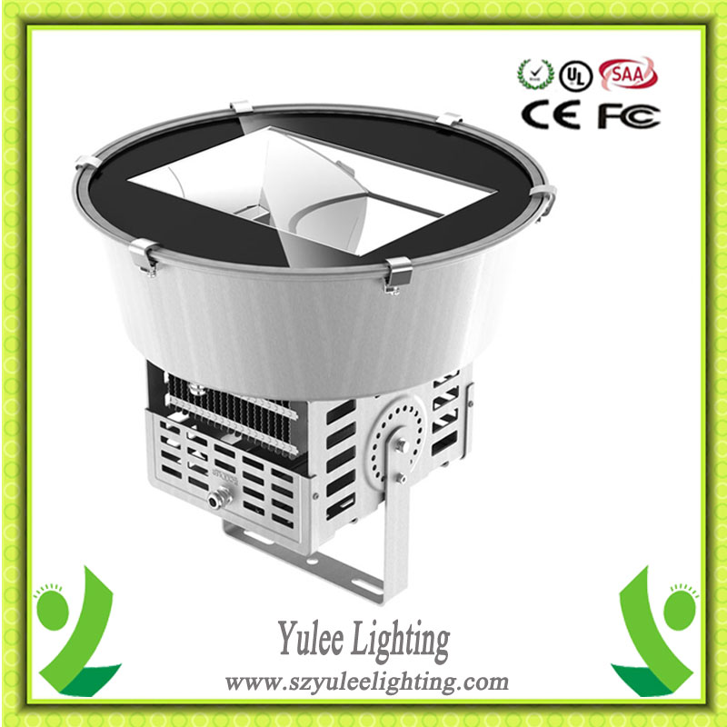 cool white Projector tower 300w high power led flood lights with Incomparable Heatsink Housing