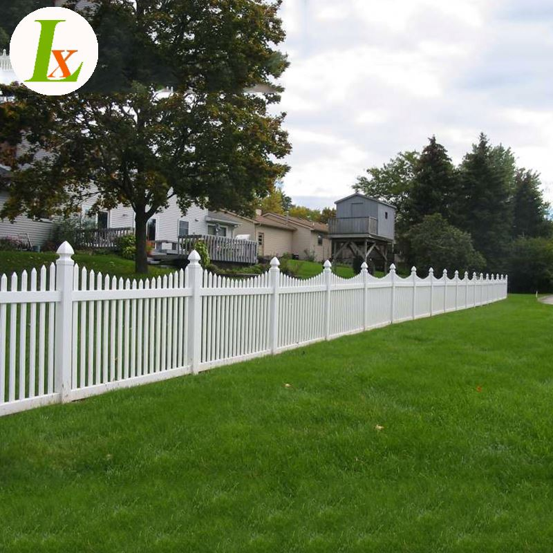 High Quality Vinyl Fencing Picket Fence Plastic