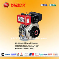 12HP KM188F yanmar best quality air cooled small single cylinder four stroke diesel engine