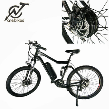 full suspension frame 27.5'' lithium battery mountain electric bike