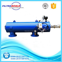 FILTRASCALE irrigation and industrial systems automatic hydraulic self cleaning water filter