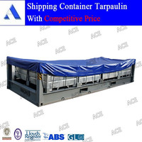 Open top container tarpaulin wigh good quality