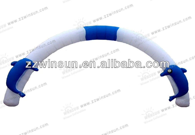 Hot sale custom made inflatables balloon arch