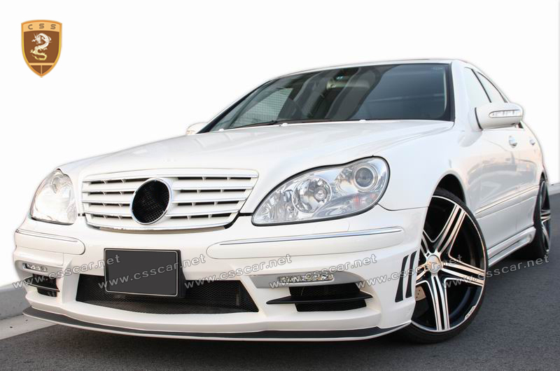 Hot sale wd body kit for bens S class w220 1999-2005 in FRP