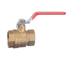 Full Port Brass Lever Operated Hand-Operated Ball Valve