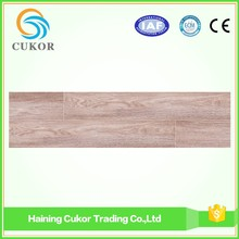 Natural wood color glue down pvc vinyl flooring plank