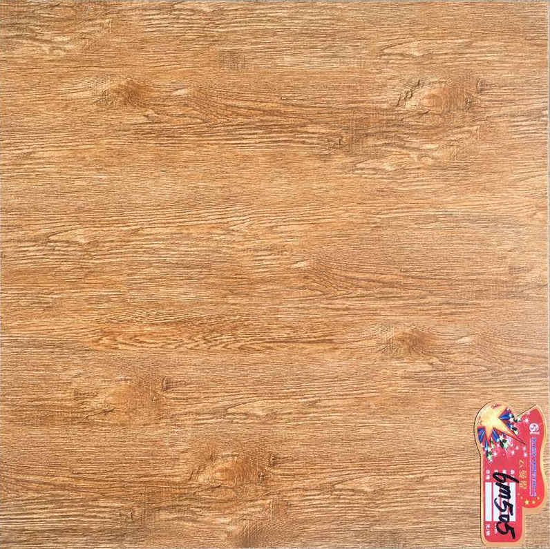 2016 best sale wood look polished ceramic floor tile made in gansu china with cheap price and high quality