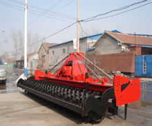New Improved high work efficiency drag power harrow for sale